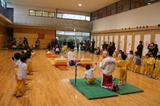 体操教室参観日