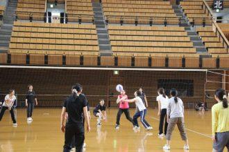 ソフトバレーボール交流会(愛媛県武道館)