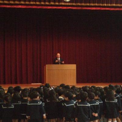第一学期始業式