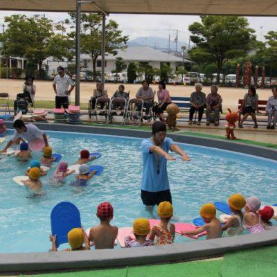 水泳教室②