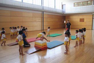 一学期のまとめ(体操教室)