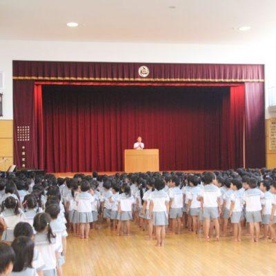 第一学期終業式