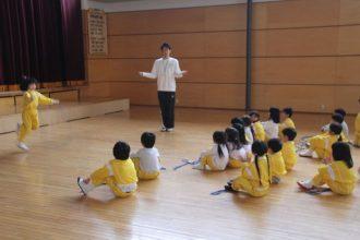体操教室二学期の歩み【年長】